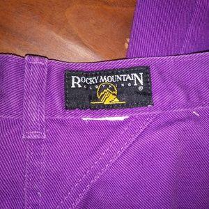 Rocky Mountain Jeans - Vtg Rocky Mountain Purple High Waist Jeans Size 28